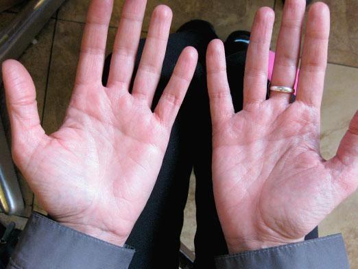Що означають лінії на руці?