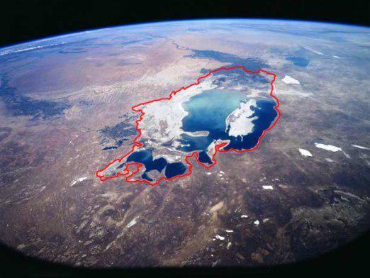 Що трапилося з аральським морем?