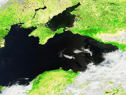 Де азовське море?