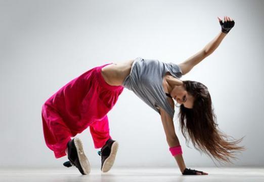 Як дівчинки танцюють хіп-хоп?