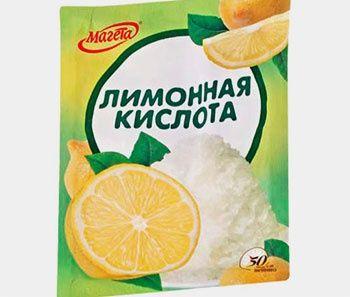Лимонна кислота як альтернатива білизні