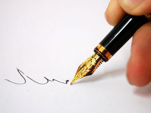 Як змінити почерк?