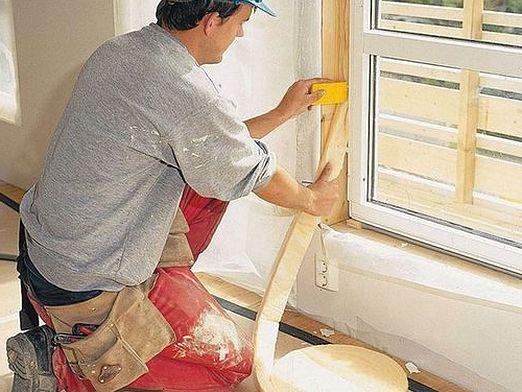Як клеїти вікна?