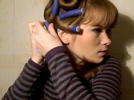 Як накрутити волосся на папільйотки?