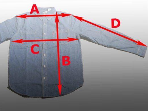 Як визначити розмір сорочки?