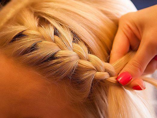 Як плести грецьку косу?