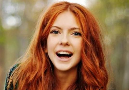 Як пофарбувати руде волосся?