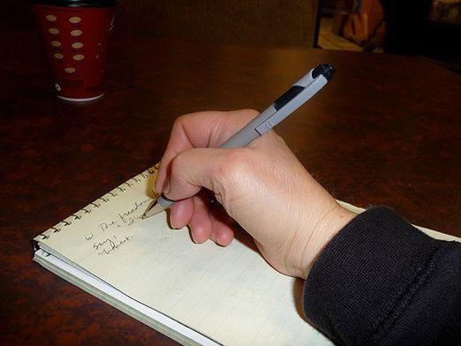 Як правильно тримати ручку?