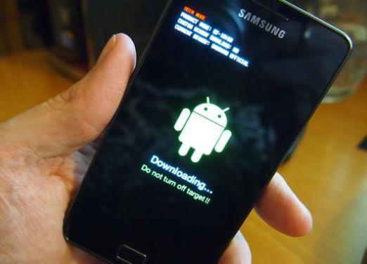 Як прошити телефон samsung galaxy?