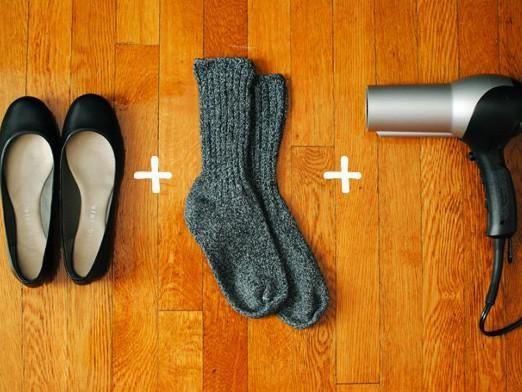 Як розтягнути взуття?