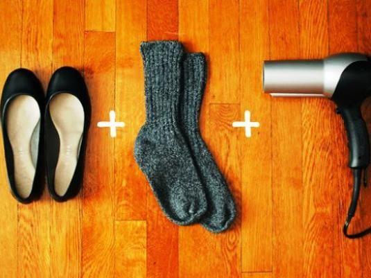 Як розтягнути замшеве взуття?