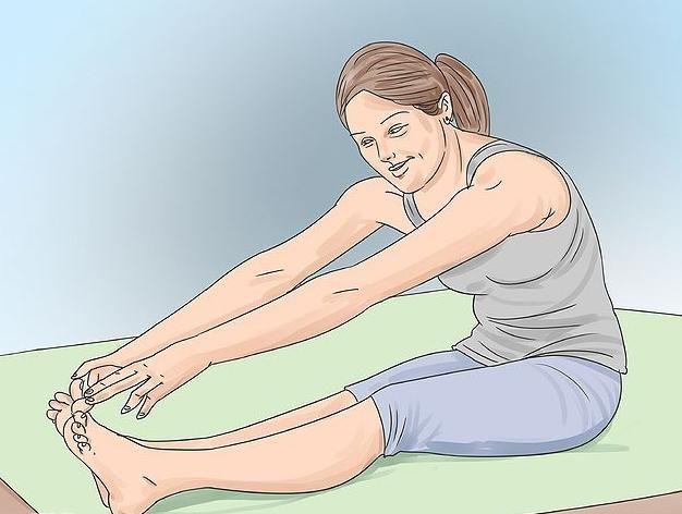 вправи для розтяжки на шпагат