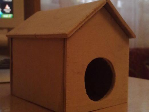 Як зробити будиночок для хом`яка?