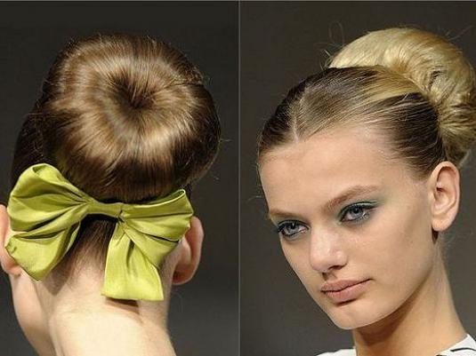 Як зробити шишку з волосся?