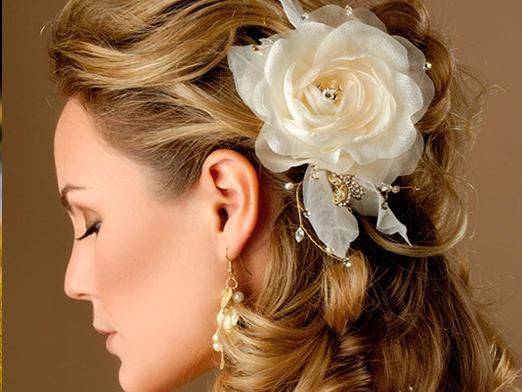 Як зробити весільну зачіску?