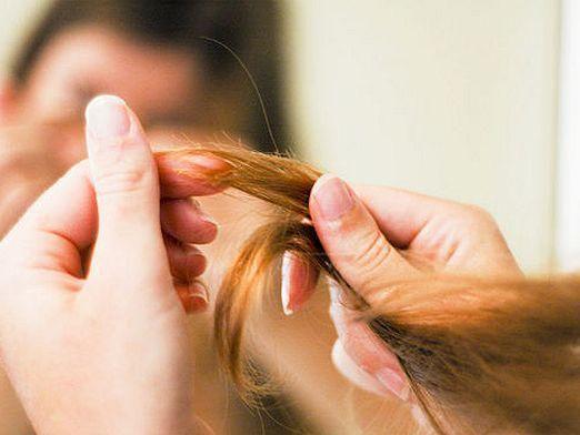 Як січеться волосся?