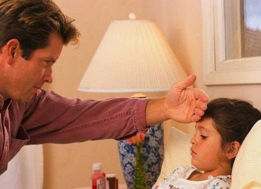 Як зняти температуру у дитини?