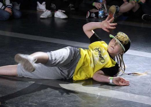Як танцюють брейк-данс діти?