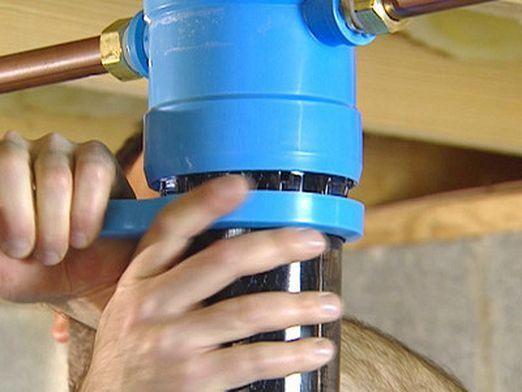 Як встановити фільтр для води?