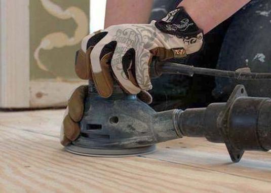 Як вирівняти дерев`яну підлогу