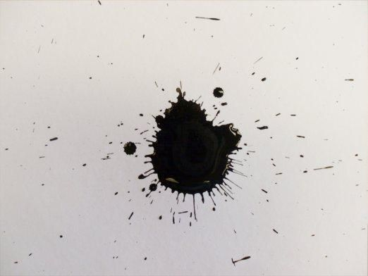 Як вивести чорнило з паперу?