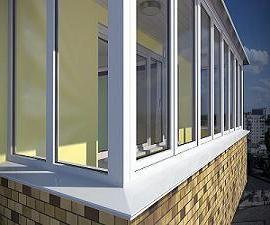 скільки коштує засклити балкон