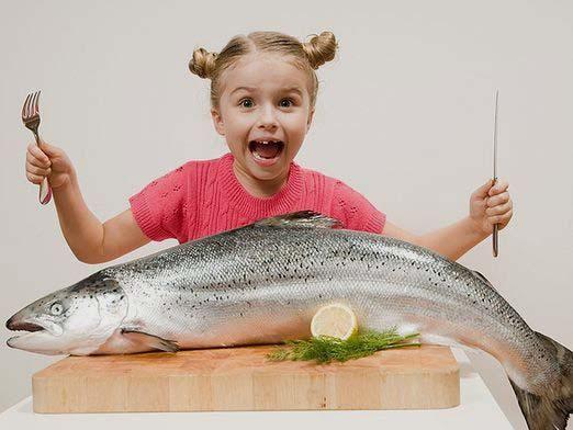Яку рибу давати дитині?