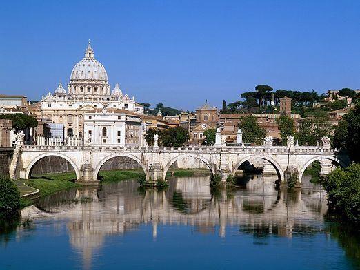 На якій річці стоїть рим?