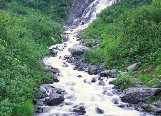 Звідки беруть початок річки?