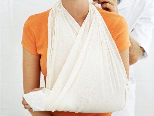 Перша допомога при переломах