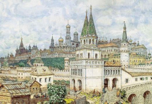 Чому Москва білокам`яна?