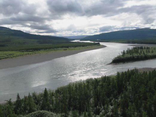 Чому течуть річки?