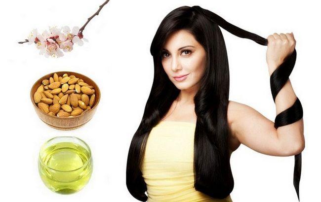 Застосування мигдалевого масла для волосся