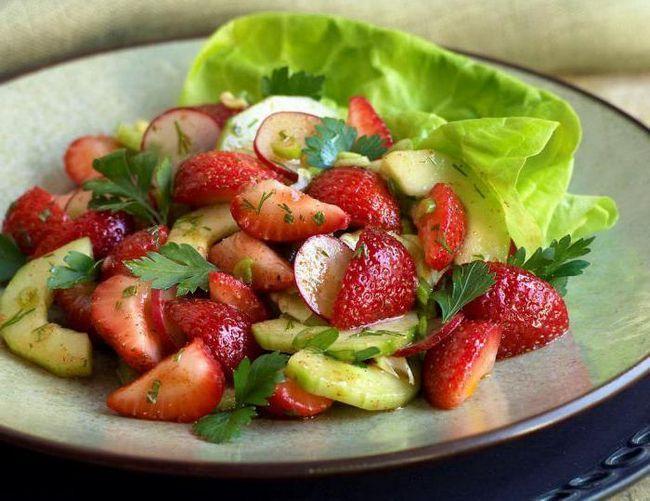 легкі літні салати рецепти