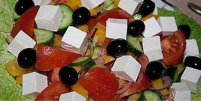 Класичний салат «Грецький»