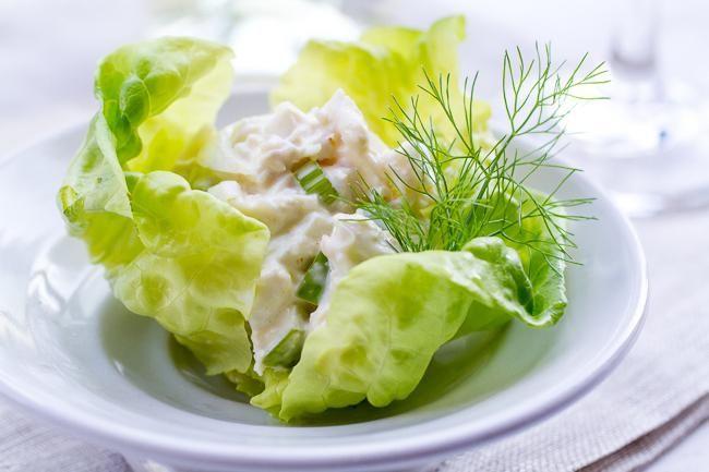 салат з крабів з квасолею