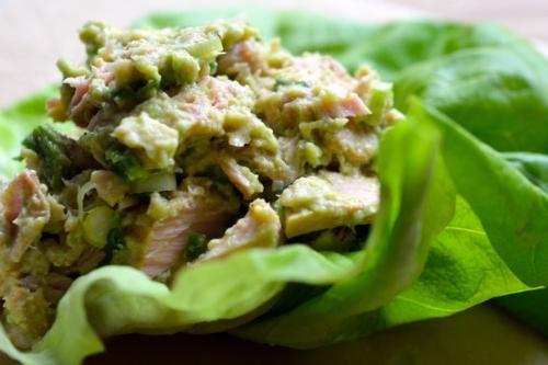 салат з тунця консервованого рецепт