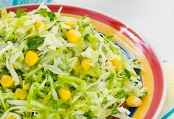 Салат крабові палички кукурудза капуста
