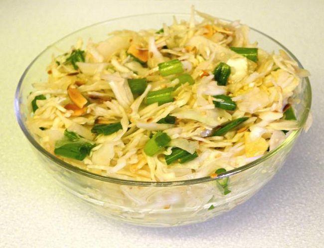 Салат пекінська капуста кукурудза