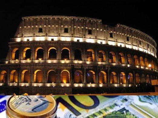 Скільки брати грошей в італії?