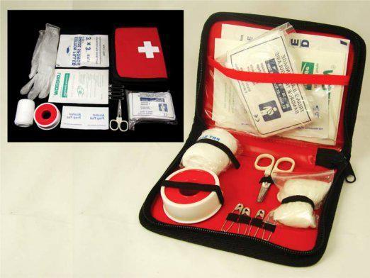 Склад аптечки першої допомоги
