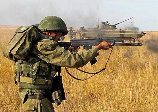 Важлива складова збройних сил - мотострілкові війська