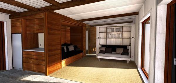 внутрішнє оздоблення дерев`яного будинку